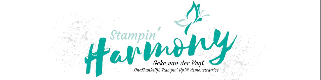 Stampin' Harmony | Geke van der Vegt
